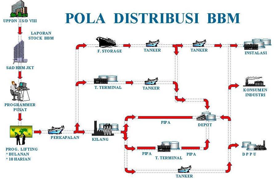 Pola distribusi