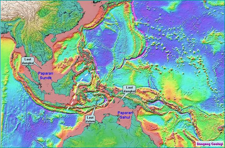 Sunda Land, atlantis indonesia map