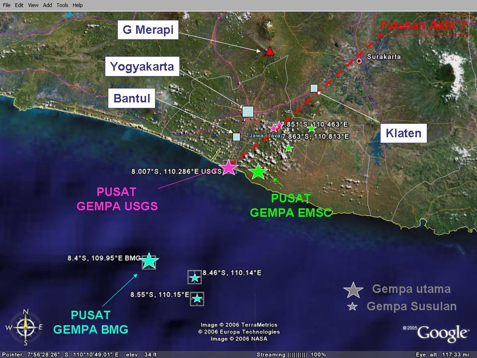 Gempa Bumi Yogyakarta 27 Mei 2006 adalah peristiwa gempa Bumi tektonik kuat yang mengguncang Daerah Istimewa Yogyakarta dan Jawa Tengah pada 27 Mei 2006 kurang lebih pukul 0555 WIB selama 57