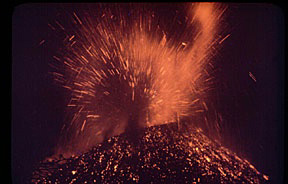 Lahirnya Gunung Api