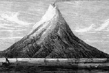 Krakatoa sebelum meletus 1883