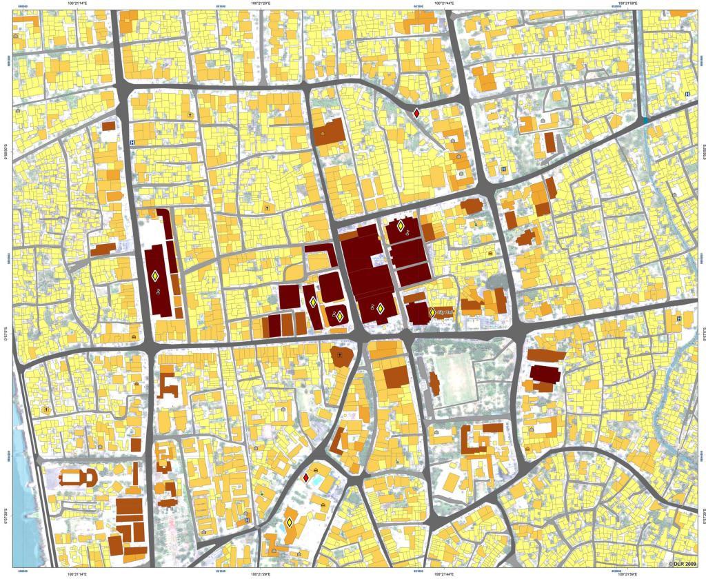 Peta Kerusakan sementara_Padang2009