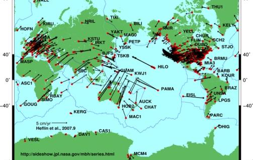peta tektonik