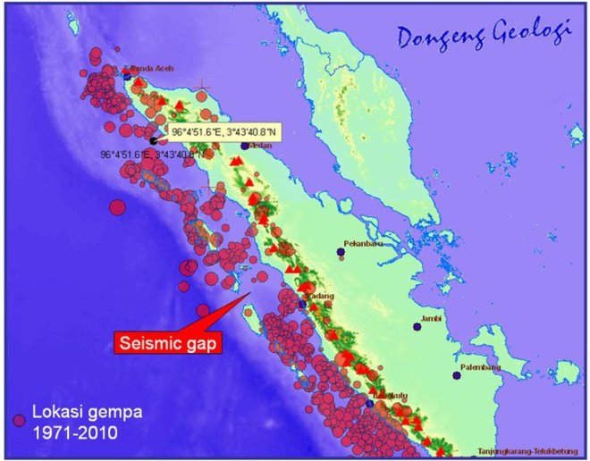 Seismic Gap Padang