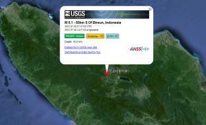 BMKG mnuturkan lokasi gempa berada di 4,70 Lintang Utara, 96,61 Bujur Timur atau 35 meter Baratdaya Kabupaten Benermeriah. Gempa berada di kedalaman 10 meter. Gempa tidak berpotensi tsunami karena di darat tetapi goyangannya sangat besar menggoyang Takengon.