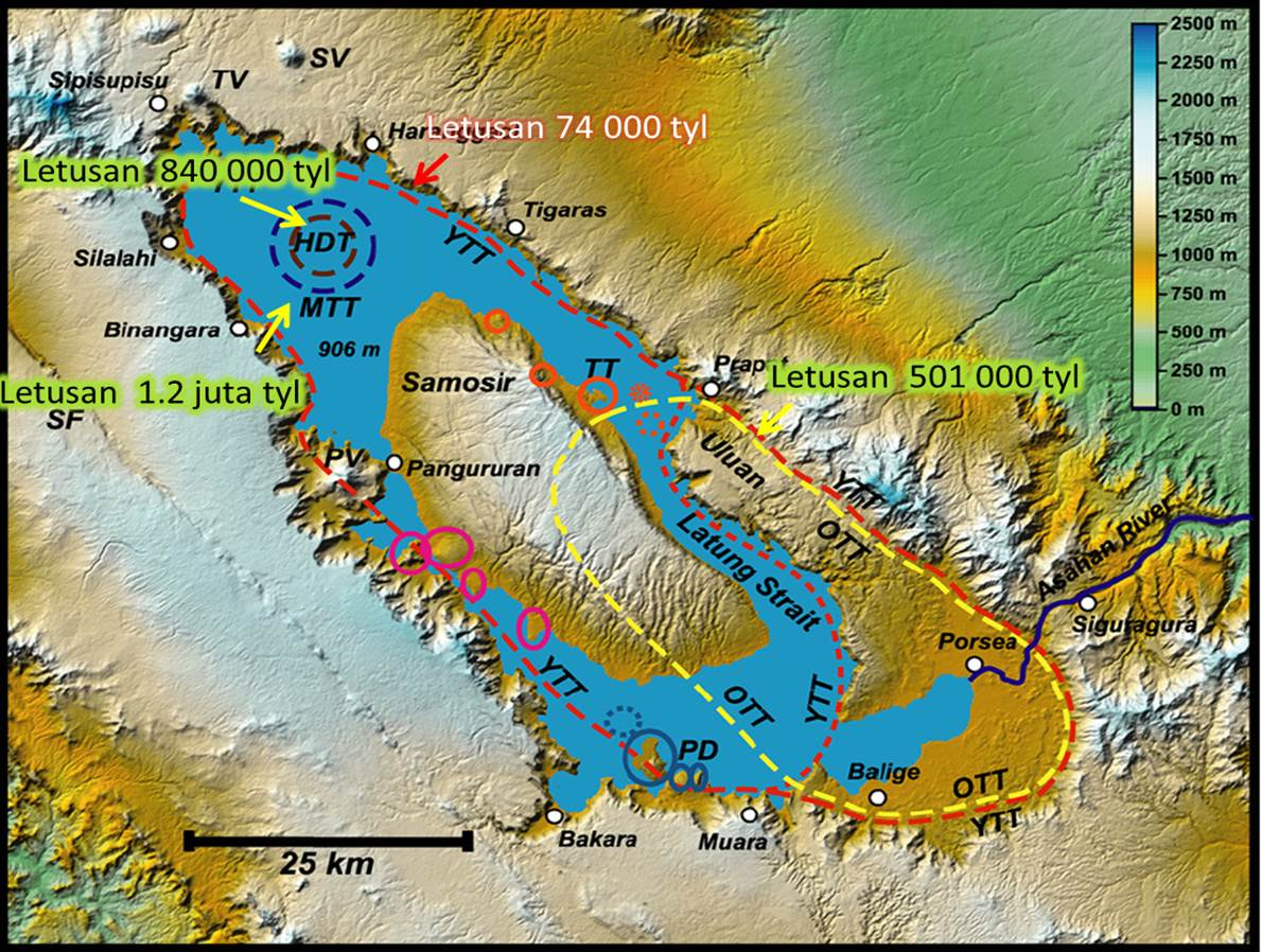 Dimana Sinabung Dimana Toba Dongeng Geologi