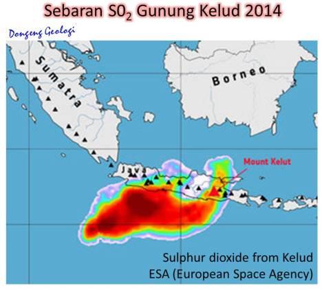 SebaranSO2Kelud2014