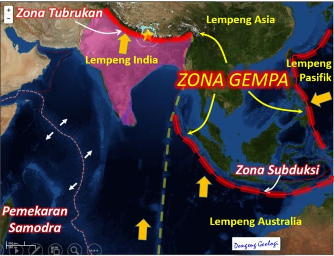 Zona Gempa